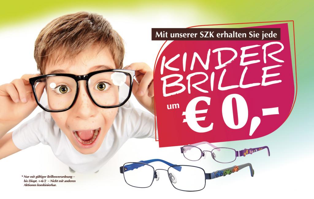 Kinderbrille um €0.-